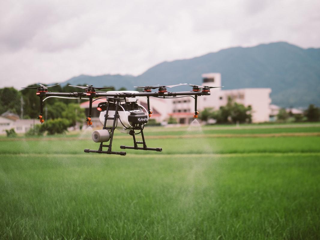 【リポート14】水稲の農薬散布(約40ha)が完了しました